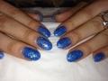 glitter-acrylic-nails